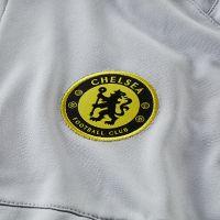 Nike Chelsea Strike Hooded Trainingspak 2021-2022 Grijs Zwart Geel