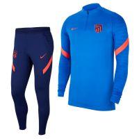 Nike Atletico Madrid Strike Drill Trainingspak 2021-2022 Kids Blauw Donkerblauw