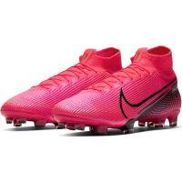 Nike Mercurial Superfly 7 Elite Gras Voetbalschoenen (FG) Roze Zwart