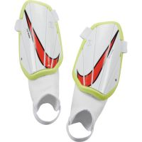 Nike Charge Scheenbeschermers Kids Wit Geel Rood