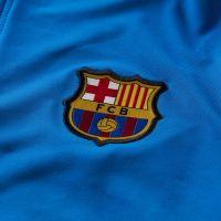 Nike FC Barcelona Strike Trainingstrui 2021-2022 Blauw Lichtgrijs