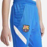 Nike FC Barcelona Strike Trainingsbroek 2021-2022 Kids Blauw Lichtgrijs