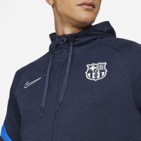 Nike FC Barcelona Travel Fleece Trainingspak 2021-2022 Donkerblauw Rood