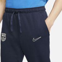 Nike FC Barcelona Travel Fleece Trainingsbroek 2021-2022 Donkerblauw Rood