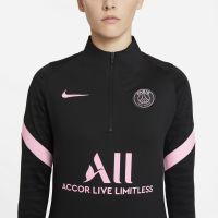 Nike Paris Saint Germain Strike Trainingstrui 2021-2022 Dames Zwart Roze