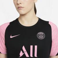 Nike Paris Saint Germain Strike Trainingshirt 2021-2022 Dames Zwart Roze
