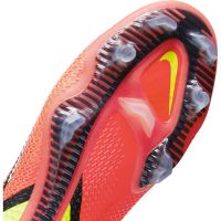 Nike Phantom GT 2 Elite DF Gras Voetbalschoenen (FG) Wit Rood Geel