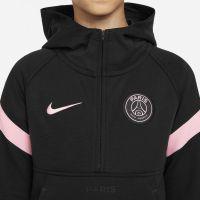 Nike Paris Saint Germain Fleece Hoodie Half-Zip 2021-2022 Kids Zwart Roze