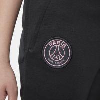 Nike Paris Saint Germain Travel Fleece Trainingsbroek 2021-2022 Kids Zwart Roze
