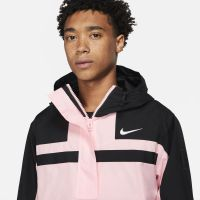 Nike Paris Saint Germain Trainingspak Hooded Woven 2021-2022 Zwart Roze Wit