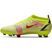 Nike Mercurial Vapor 14 Pro Gras Voetbalschoenen (FG) Geel Rood Zwart
