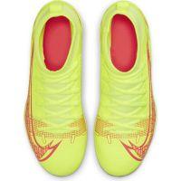 Nike Mercurial Superfly 8 Club Gras / Kunstgras Voetbalschoenen (MG) Kids Wit Zwart Rood
