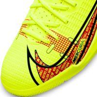 Nike Mercurial Vapor 14 Academy Zaalvoetbalschoenen (IC) Kids Geel Rood Zwart