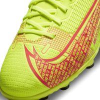 Nike Mercurial Vapor 14 Club Gras / Kunstgras Voetbalschoenen (MG) Kids Geel Rood Zwart