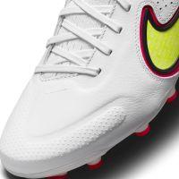 Nike Tiempo Legend 9 Pro Gras Voetbalschoenen (FG) Wit Geel Rood