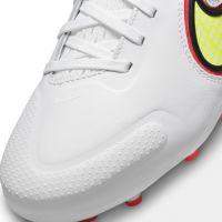 Nike Tiempo Legend 9 Pro Gras Voetbalschoenen (FG) Kids Wit Geel Rood