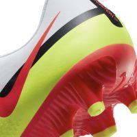 Nike Phantom GT 2 Academy Gras / Kunstgras Voetbalschoenen (MG) Wit Rood Geel