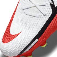 Nike Phantom GT 2 Pro DF Gras Voetbalschoenen (FG) Wit Rood Geel