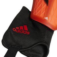 adidas X Scheenbeschermers Match Kids Rood Wit Geel