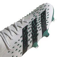 adidas Predator Freak.1 Low Gras Voetbalschoenen (FG) Wit Zwart Groen