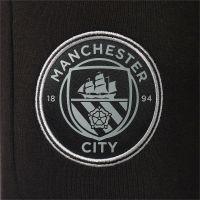 PUMA Manchester City Casuals Sweat Trainingsbroek 2021-2022 Zwart