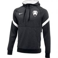 Nike Bankzitters Fleece Hoodie Donkergrijs Wit