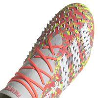 adidas Predator Freak.1 Gras Voetbalschoenen (FG) Grijs Wit Geel
