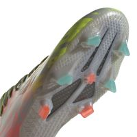 adidas X Speedflow.1 Gras Voetbalschoenen (FG) Grijs Wit Geel