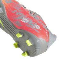 adidas X Speedflow.3 Gras Voetbalschoenen (FG) Kids Grijs Wit Geel