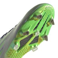 adidas X Speedflow.1 Gras Voetbalschoenen (FG) Paars Groen Wit