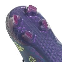 adidas X Speedflow Messi.1 Gras Voetbalschoenen (FG) Blauw Roze Geel