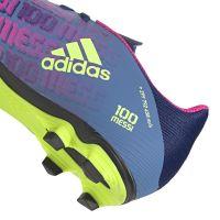 adidas X Speedflow Messi.4 Gras / Kunstgras Voetbalschoenen (FxG) Blauw Roze Geel