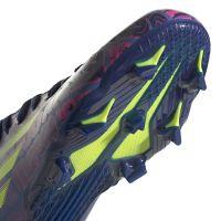 adidas X Speedflow Messi.3 Gras Voetbalschoenen (FG) Kids Blauw Roze Geel