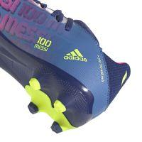 adidas X Speedflow Messi.3 Gras / Kunstgras Voetbalschoenen (MG) Kids Blauw Roze Geel