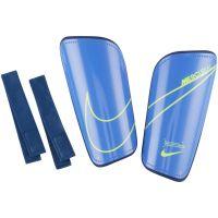 Nike Mercurial Hardshell Scheenbeschermers Paars Blauw Geel