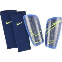 Nike Mercurial Lite Scheenbeschermers Blauw Paars Geel