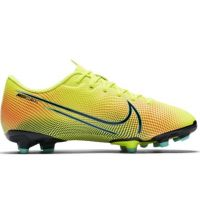 Nike Mercurial Vapor 13 Academy MDS Gras / Kunstgras Voetbalschoenen (MG) Kids Geel Blauw Roze
