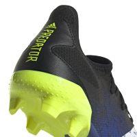 adidas Predator Freak.3 Low Gras Voetbalschoenen (FG) Zwart Wit Geel