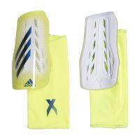 adidas X League Scheenbeschermers Geel Zwart Blauw