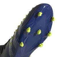 adidas Predator Freak.2 Gras Voetbalschoenen (FG) Zwart Wit Geel