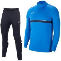 Nike Academy 21 Drill Trainingspak Blauw Donkerblauw