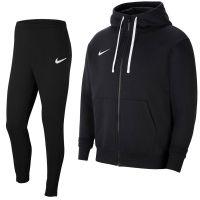 Nike Park 20 Fleece Full-Zip Trainingspak Zwart