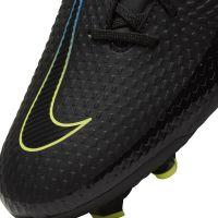 Nike Phantom GT Academy Gras / Kunstgras Voetbalschoenen (MG) Zwart Geel Blauw