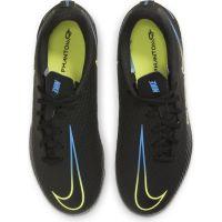 Nike Phantom GT Academy Gras / Kunstgras Voetbalschoenen (MG) Kids Zwart Geel Blauw