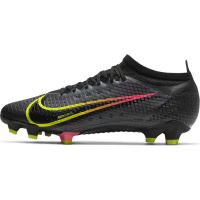 Nike Mercurial Vapor 14 Pro Gras Voetbalschoenen (FG) Zwart Geel