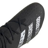adidas Predator Freak.3 Gras Voetbalschoenen (FG) Zwart Wit Zwart