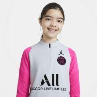 Nike Paris Saint Germain Strike Trainingstrui 2021 Kids Platinum Roze Zwart