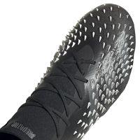 adidas Predator Freak.1 Gras Voetbalschoenen (FG) Zwart Grijs Wit