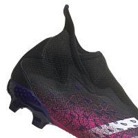 adidas Predator Freak.3 LL Gras Voetbalschoenen (FG) Zwart Wit Roze