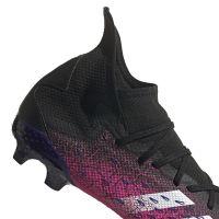 adidas Predator Freak.3 Gras Voetbalschoenen (FG) Zwart Wit Roze